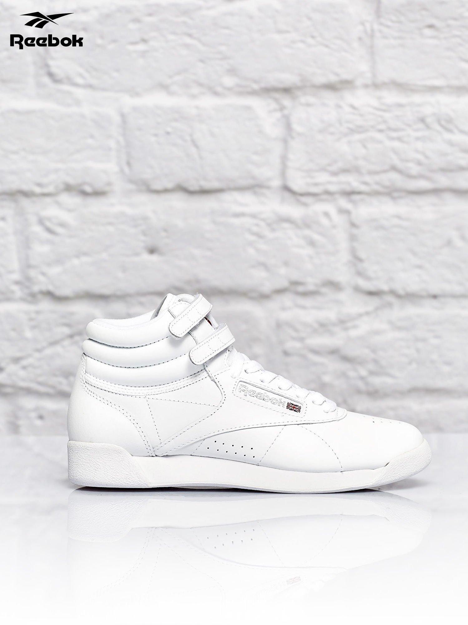 3bf0eaa9 REEBOK Białe buty sportowe F/S Hi - Buty Buty sportowe - sklep eButik.pl