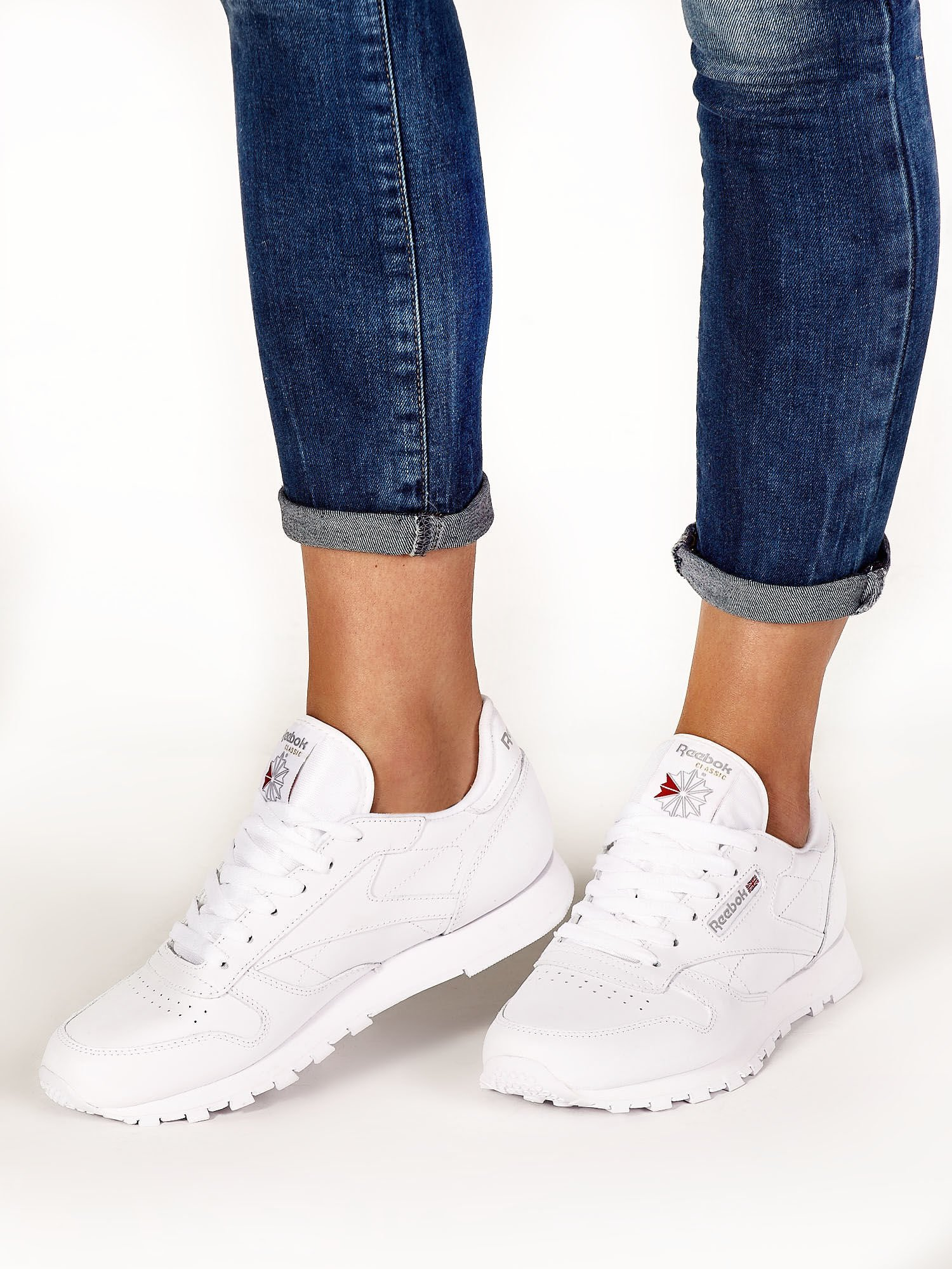 7dd04c13 REEBOK Białe buty sportowe damskie - Buty Buty sportowe - sklep eButik.pl