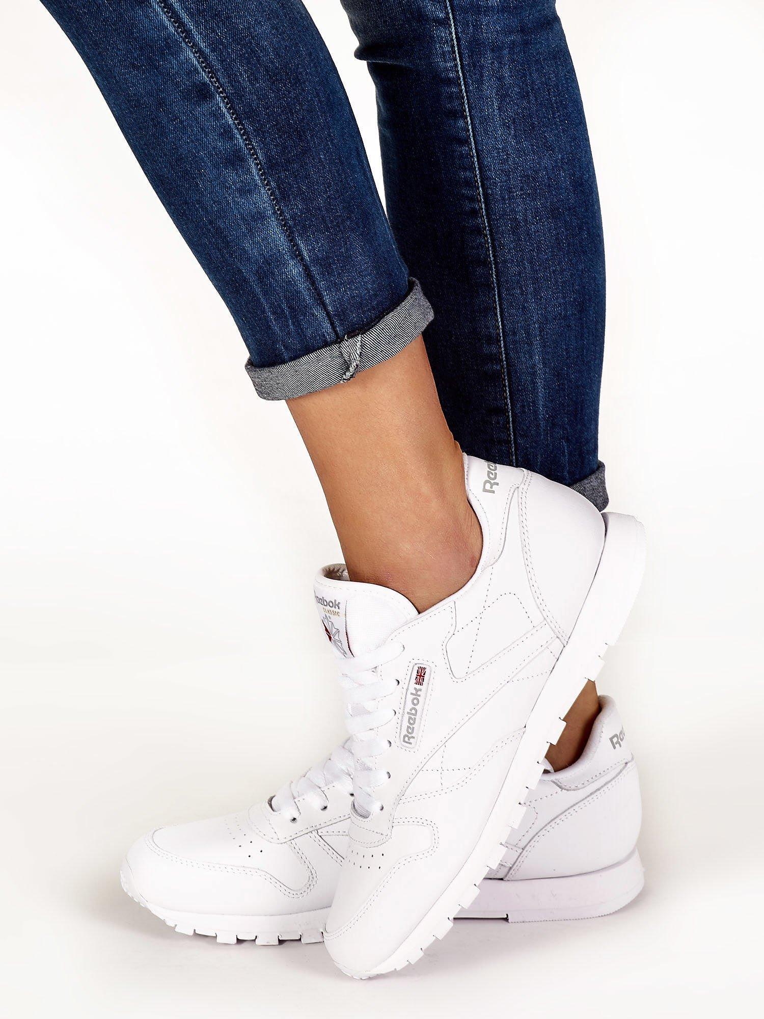 adidasy damskie reebok białe