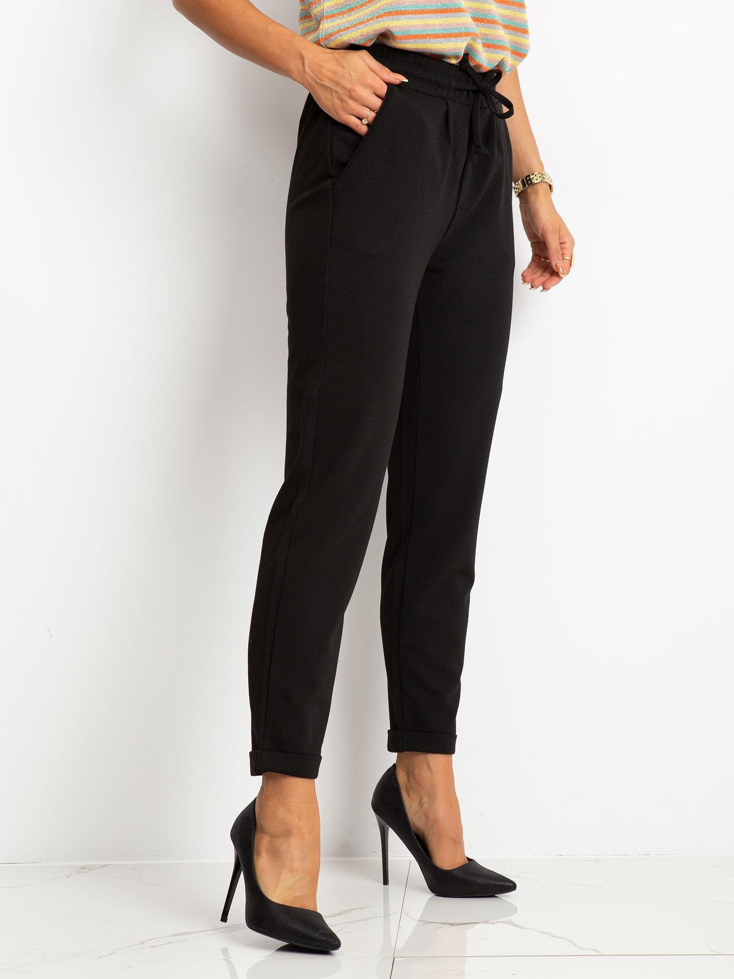 RUE PARIS Czarne spodnie Journee
