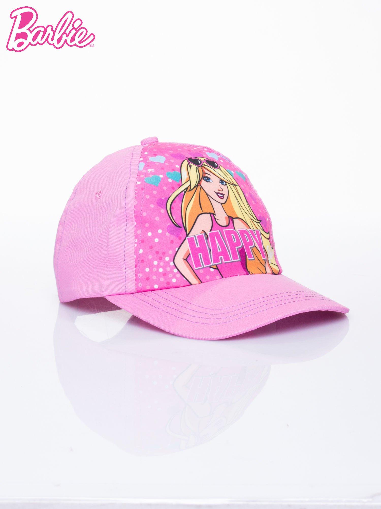 Różowa czapka z daszkiem dla dziewczynki BARBIE                                  zdj.                                  2
