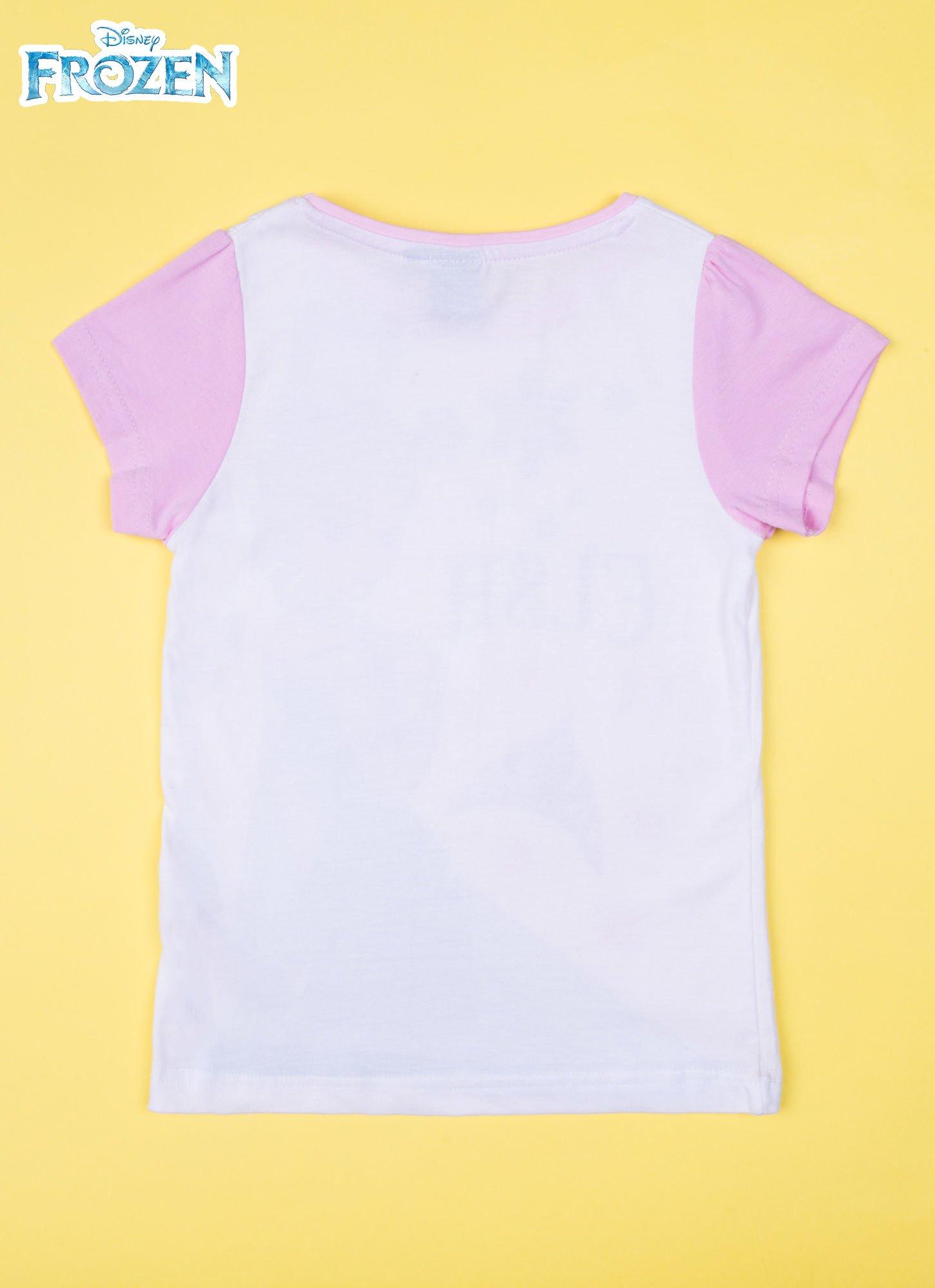 Różowa piżama dla dziewczynki KRAINA LODU                                  zdj.                                  3