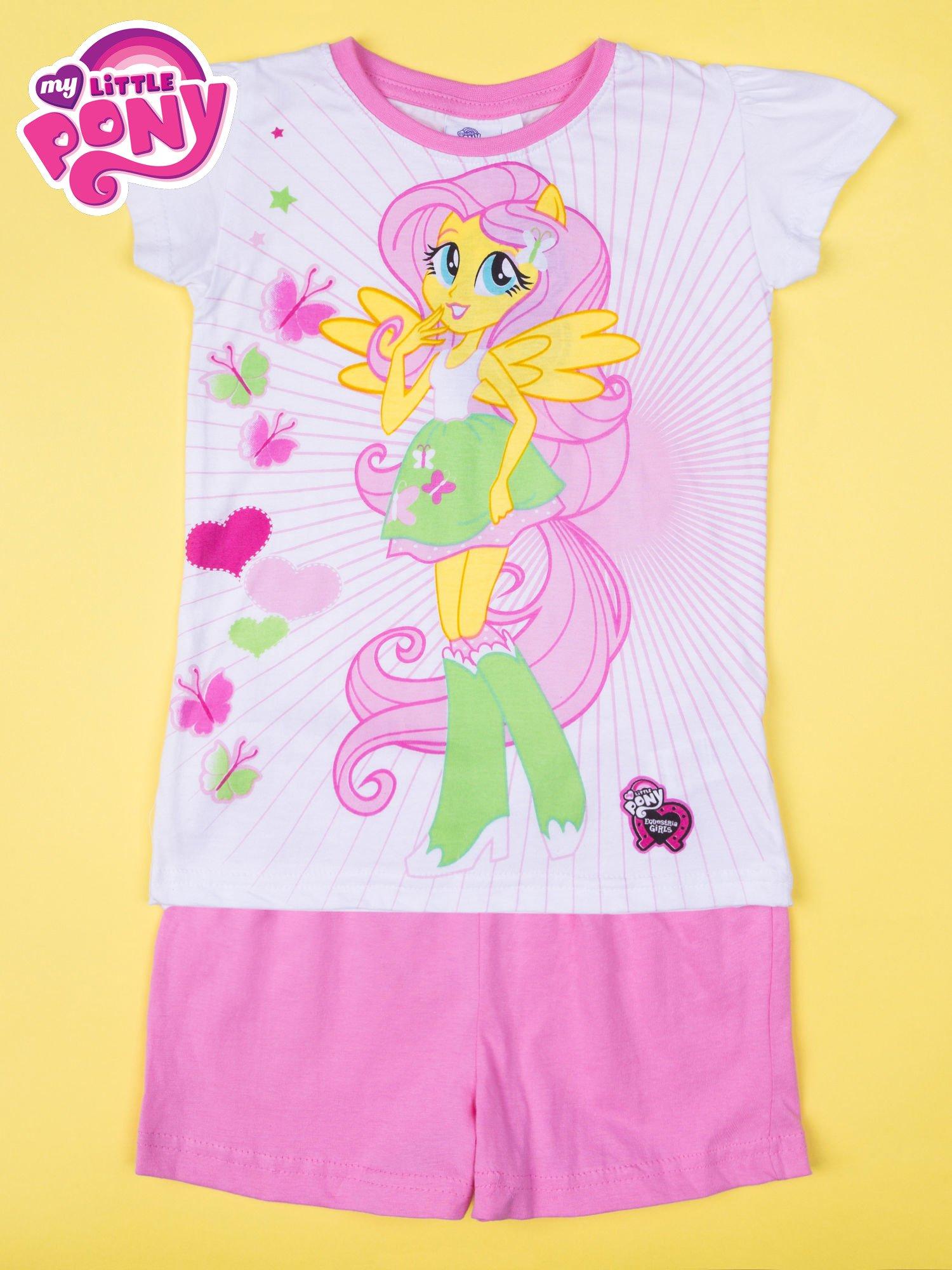 Różowa piżama dla dziewczynki MY LITTLE PONY                                  zdj.                                  1