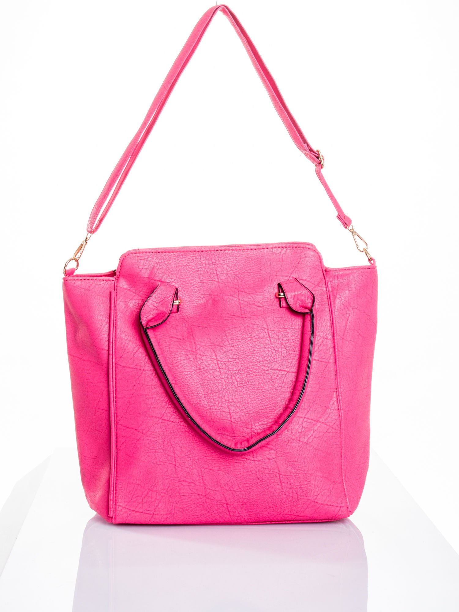 Różowa torba shopper bag                                  zdj.                                  5