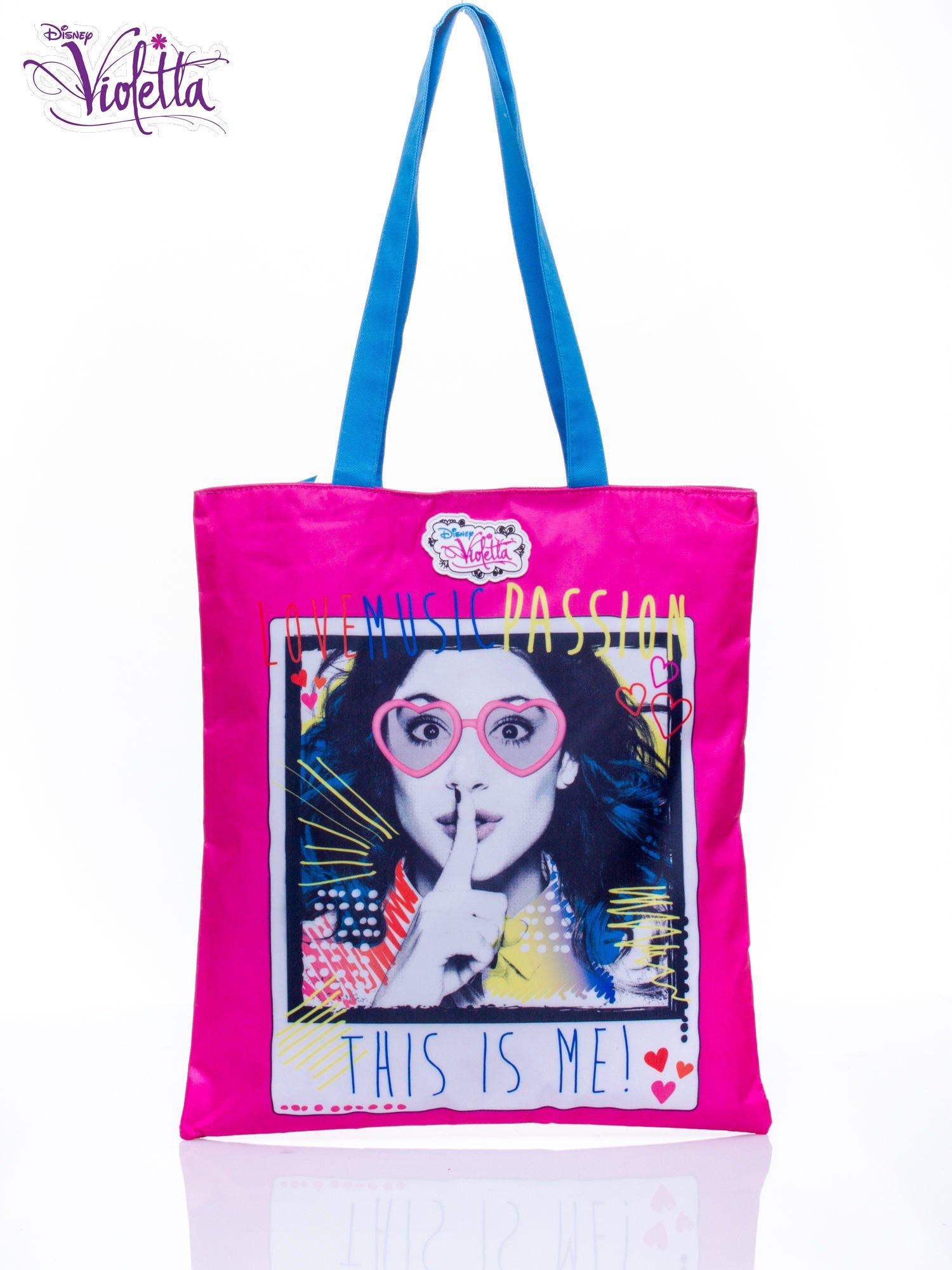 Groovy Różowa torba shopper bag dla dziewczynki DISNEY Violetta - Dziecko TO94