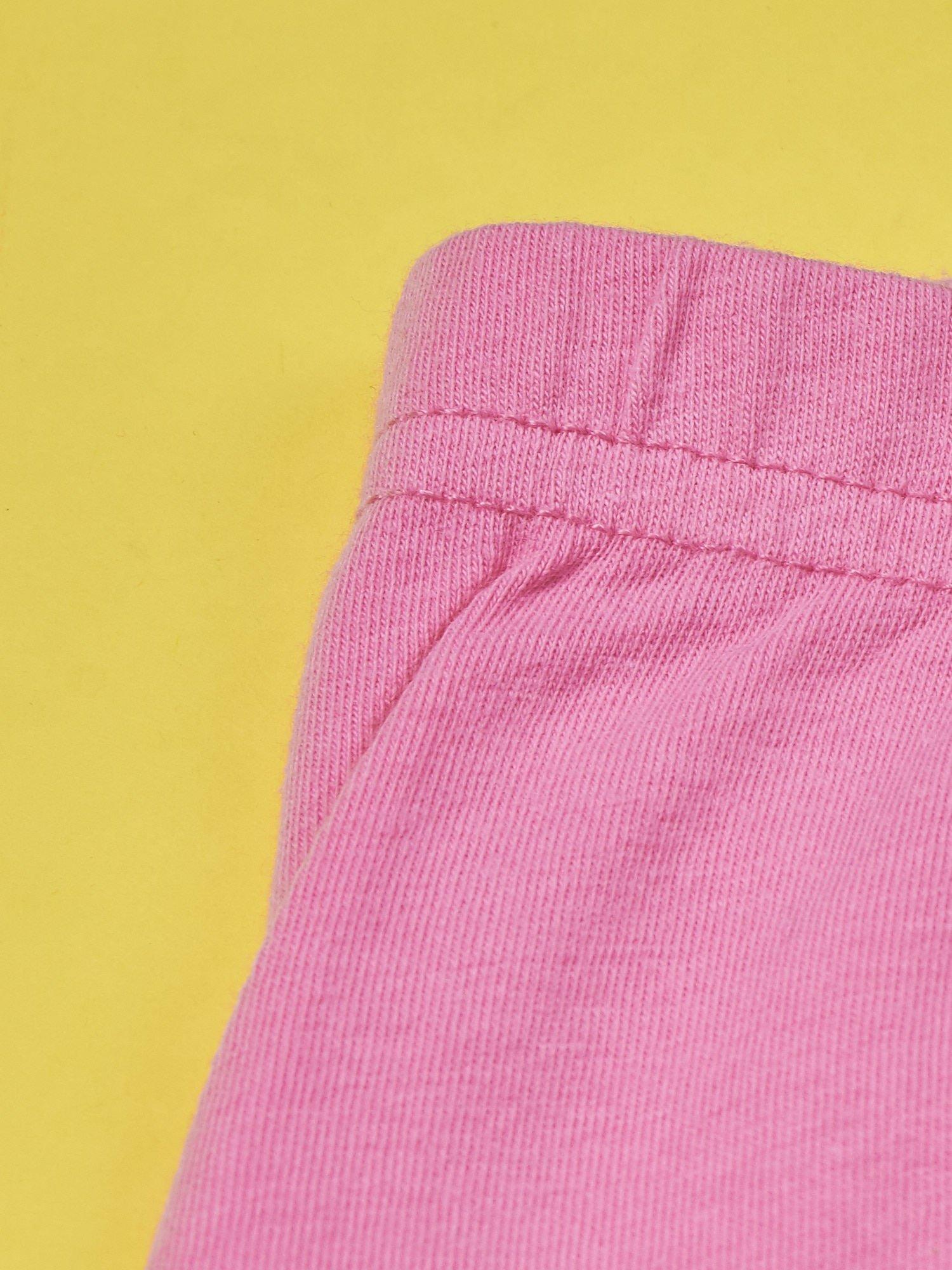 Różowe legginsy dla dziewczynki GARFIELD                                  zdj.                                  4