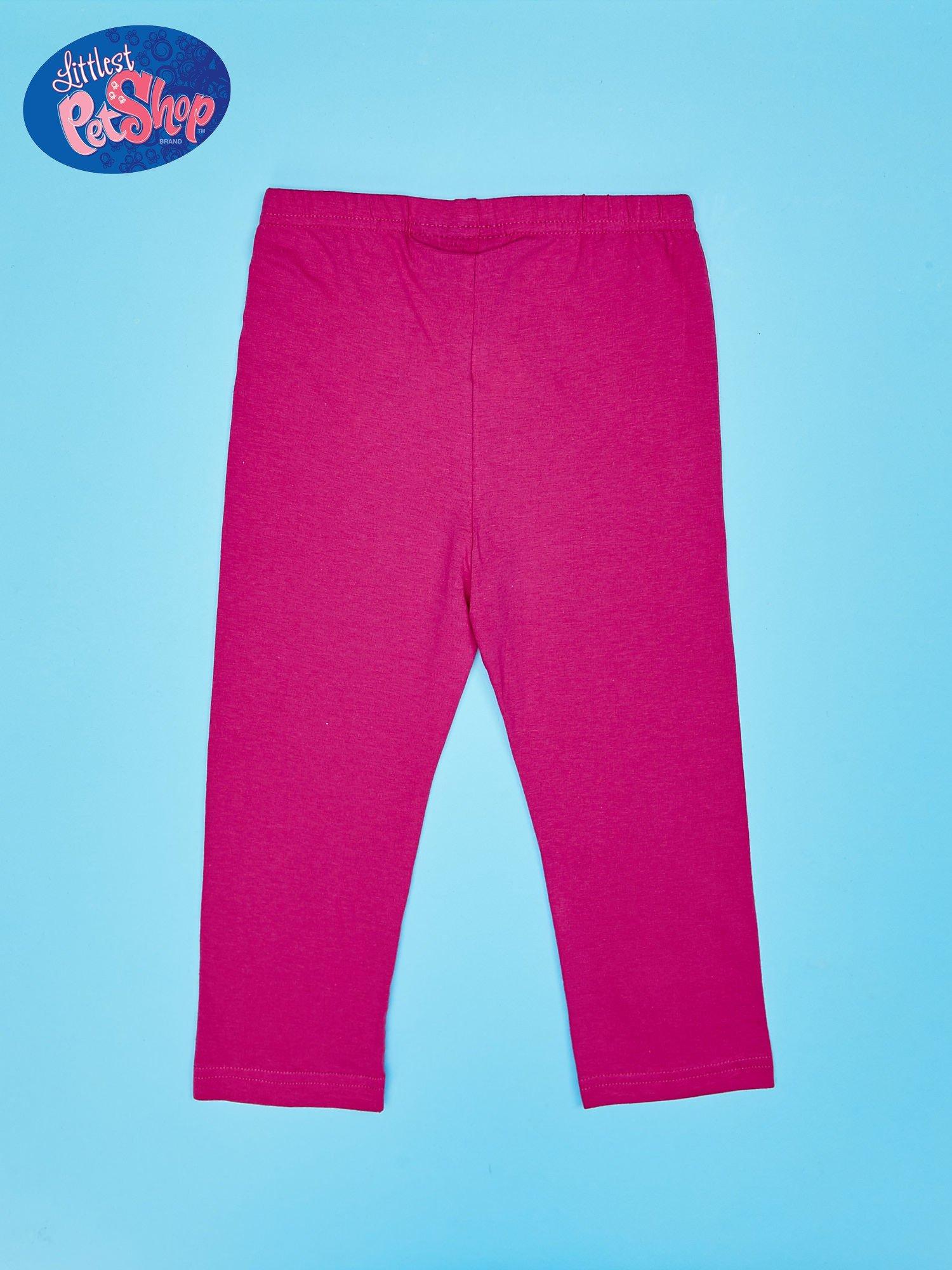 Różowe legginsy dla dziewczynki LITTLEST PET SHOP                                  zdj.                                  3