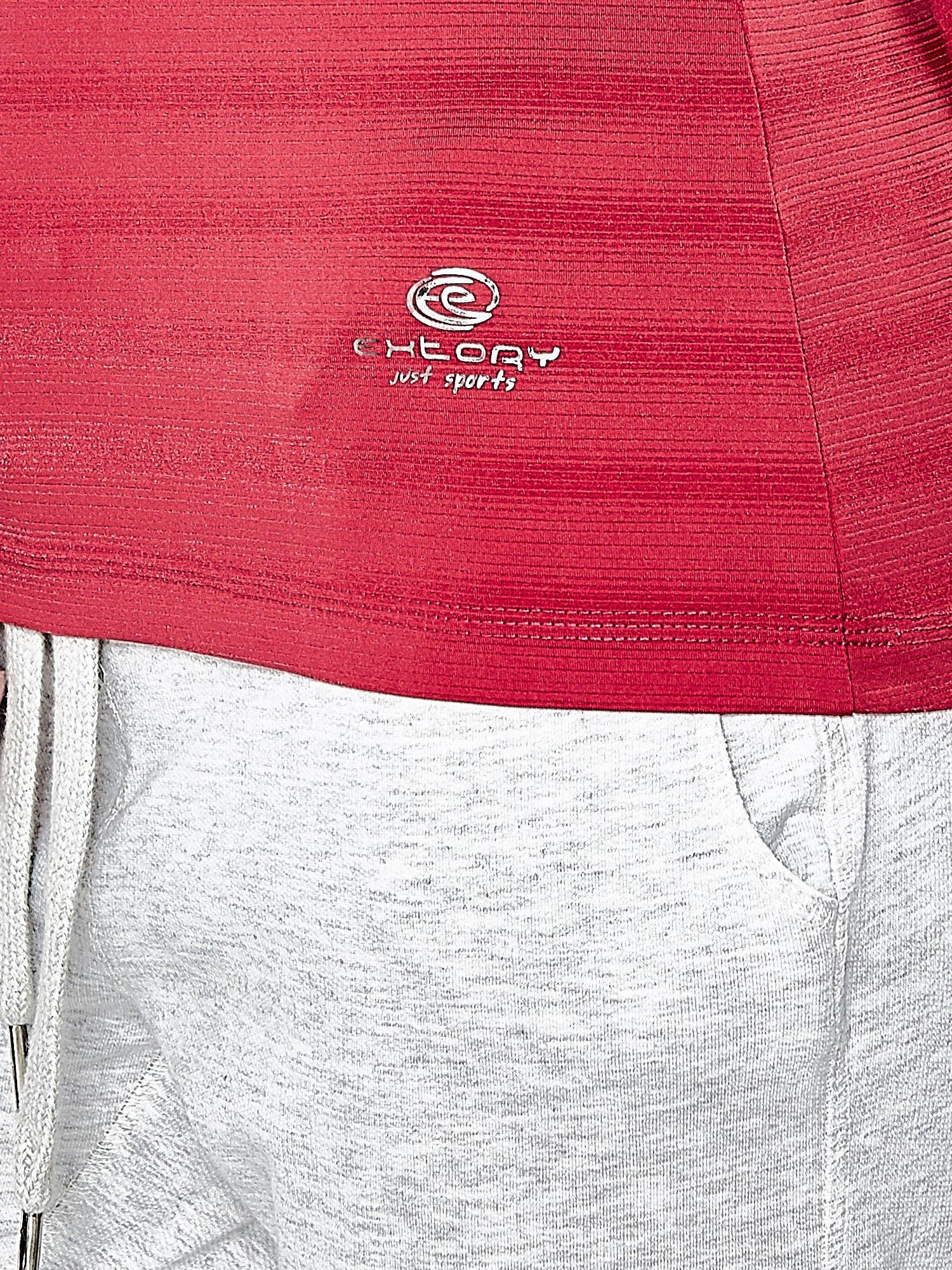 Różowy damski t-shirt sportowy PLUS SIZE                                  zdj.                                  6