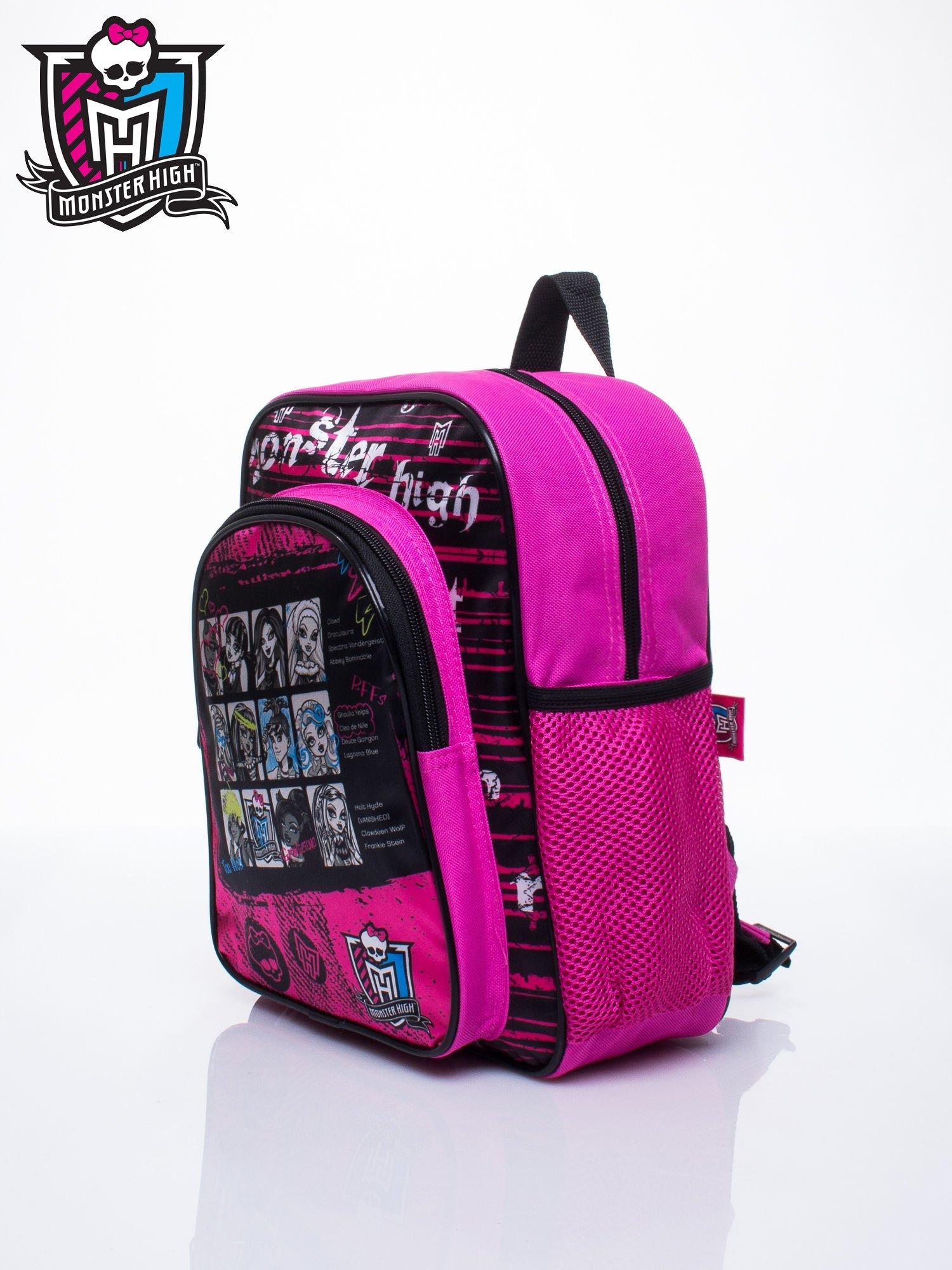 Różowy plecak dla dziewczynki DISNEY Monster High                                  zdj.                                  2