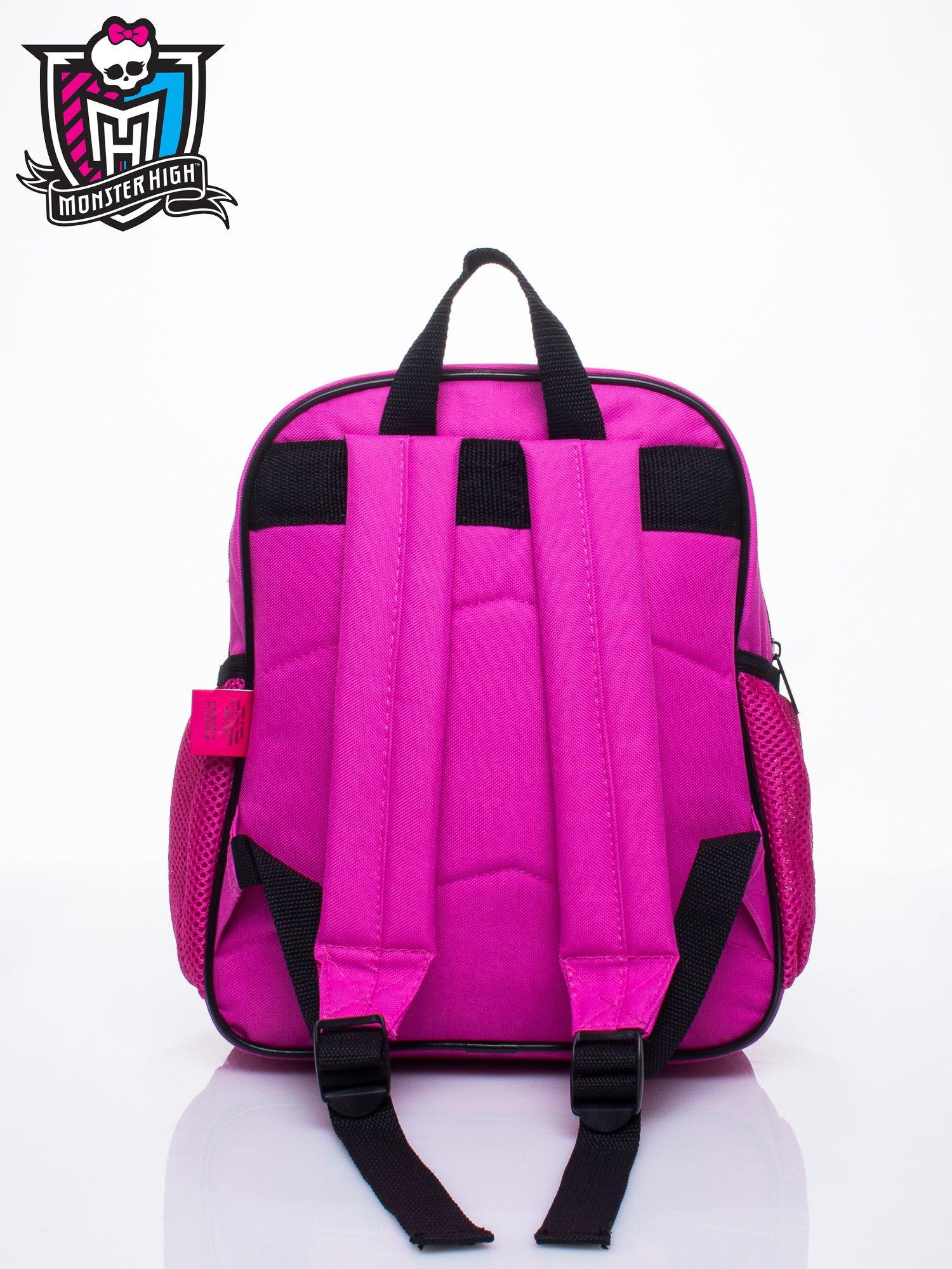 Różowy plecak dla dziewczynki DISNEY Monster High                                  zdj.                                  3
