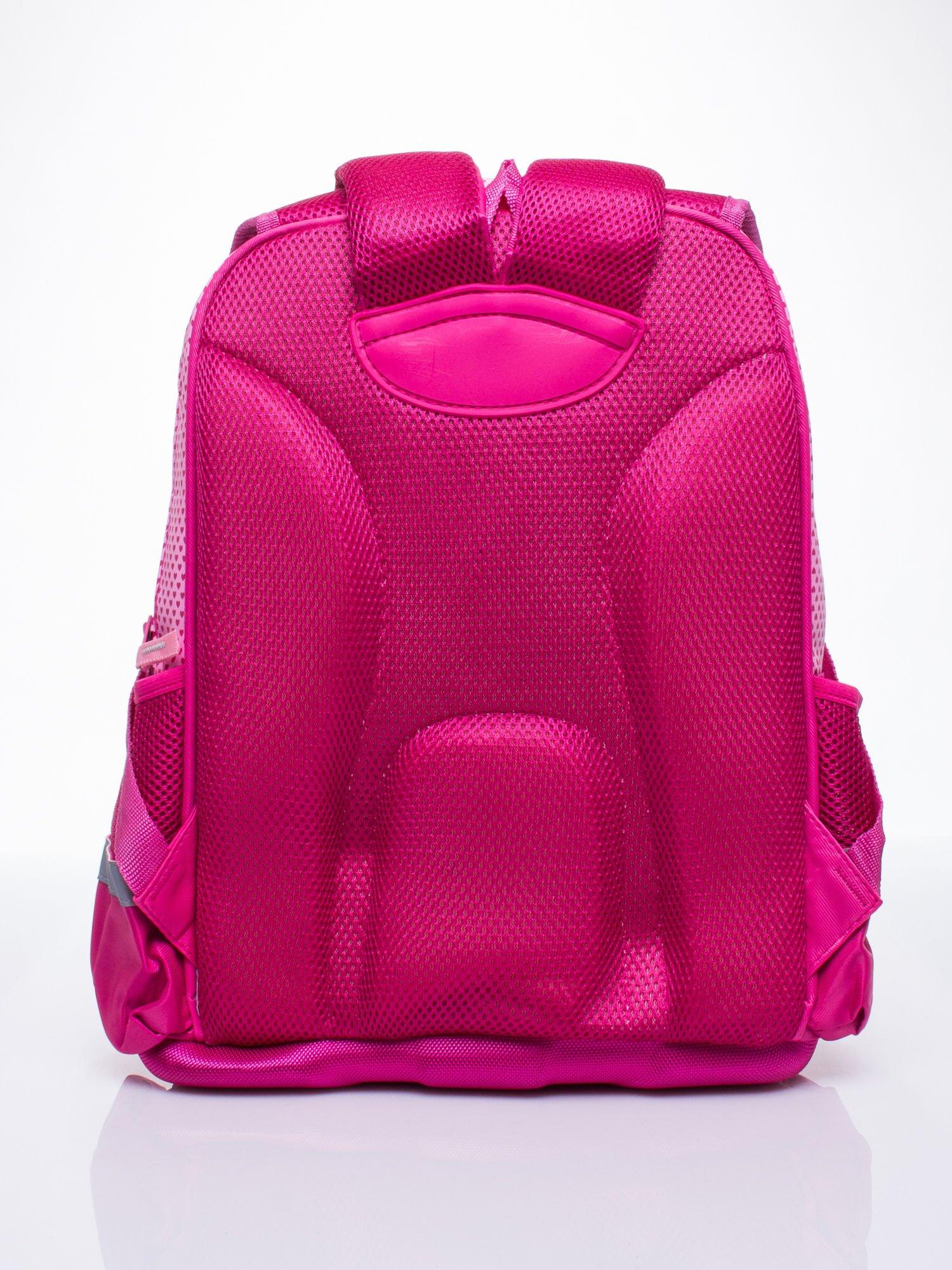 Różowy plecak dla dziewczynki DISNEY z księżniczkami                                  zdj.                                  5