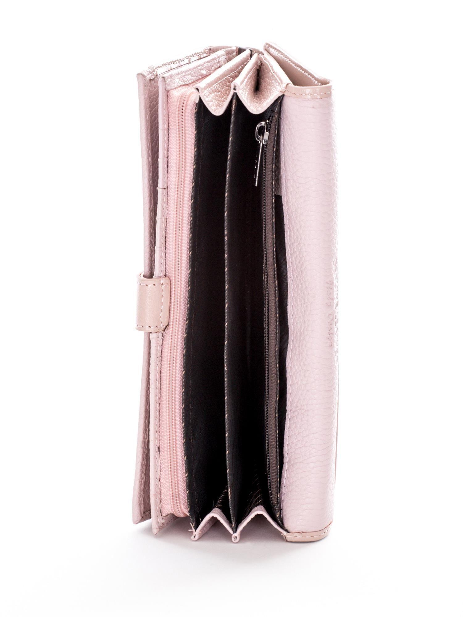 Elegancki portfel damski ze skóry ekologicznej P21
