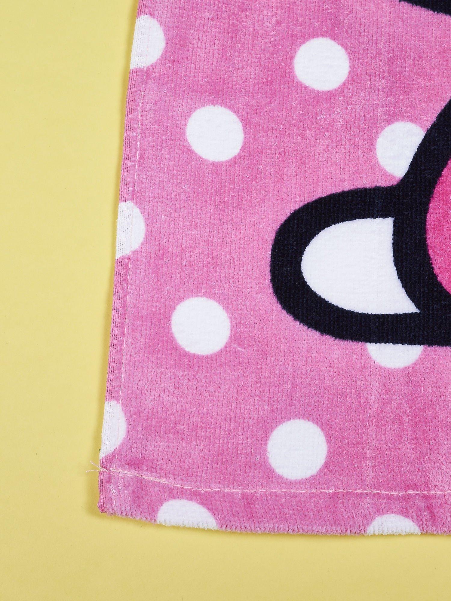 Różowy szlafrok dla dziewczynki HELLO KITTY                                  zdj.                                  5