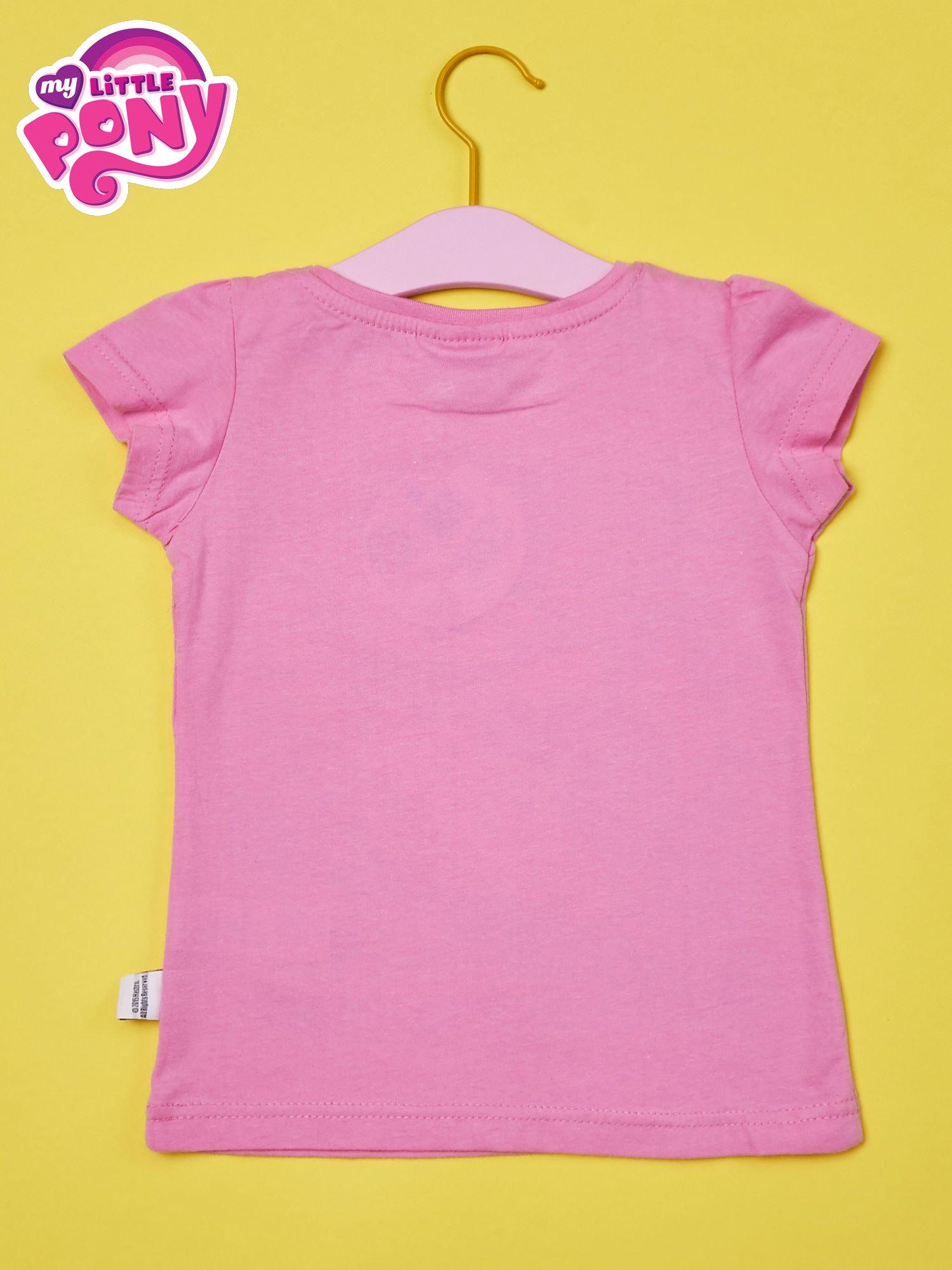 Różowy t-shirt dla dziewczynki MY LITTLE PONY                                  zdj.                                  2