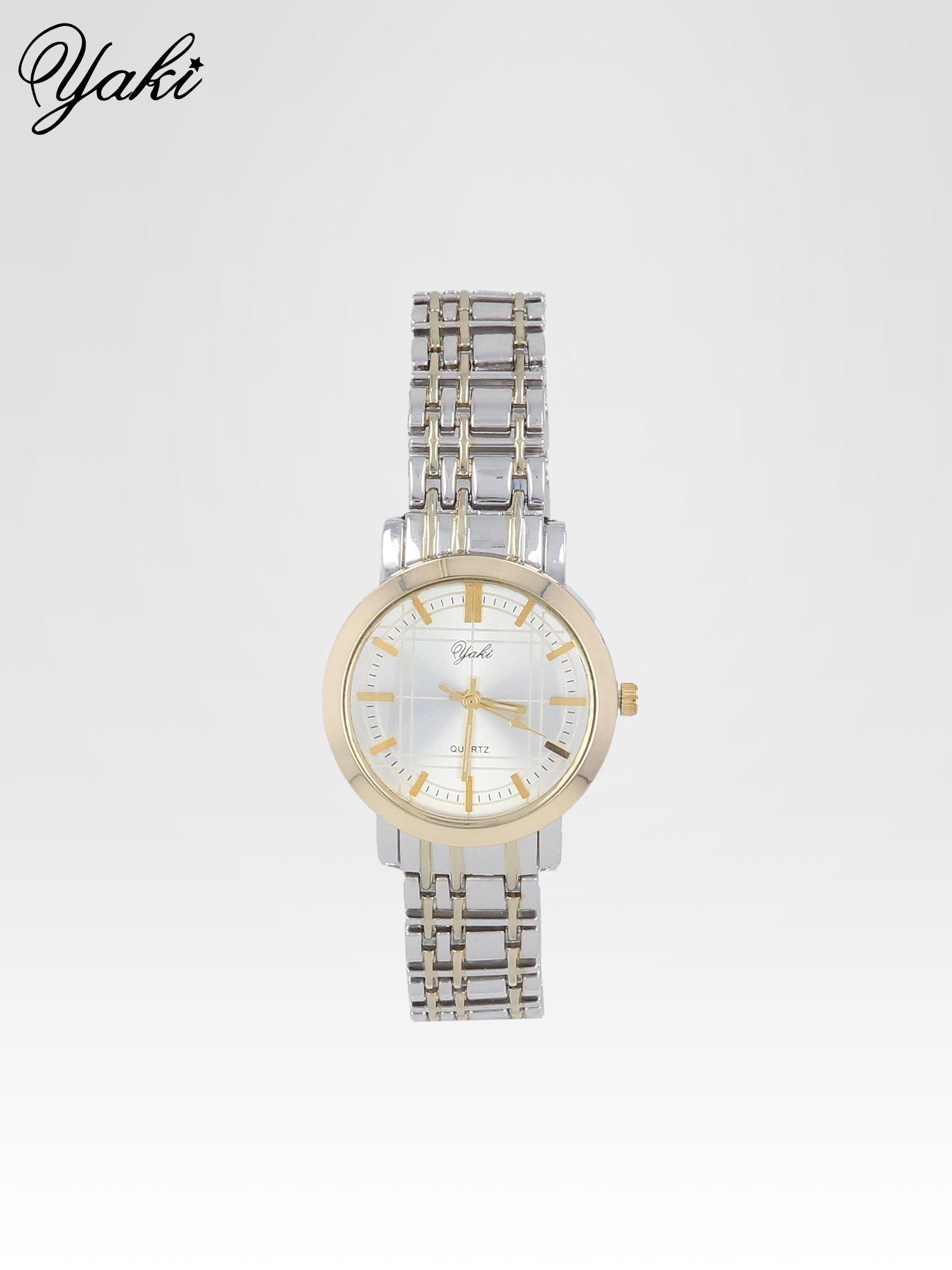 Srebrny klasyczny zegarek damski na bransolecie                                  zdj.                                  1