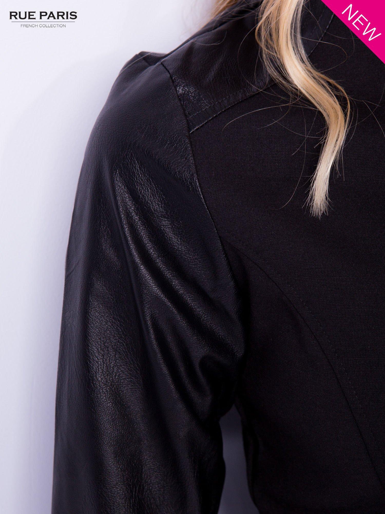 Stylowy Żakiet Ramoneska - Musisz to Zobaczyć                                  zdj.                                  4
