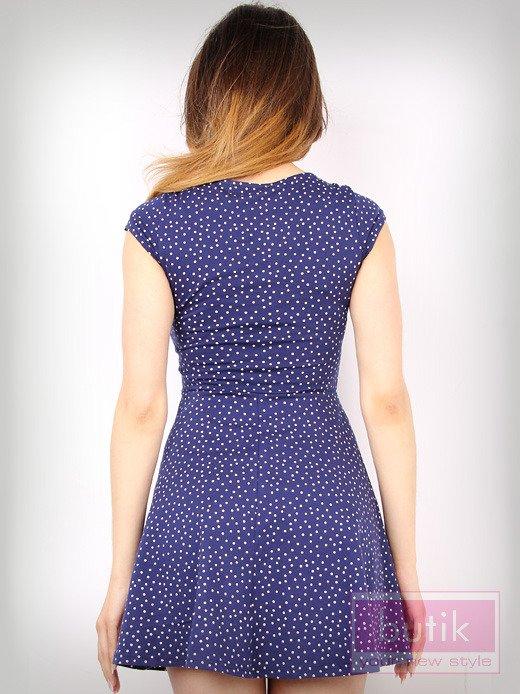 Sukienka w kropki                                  zdj.                                  2