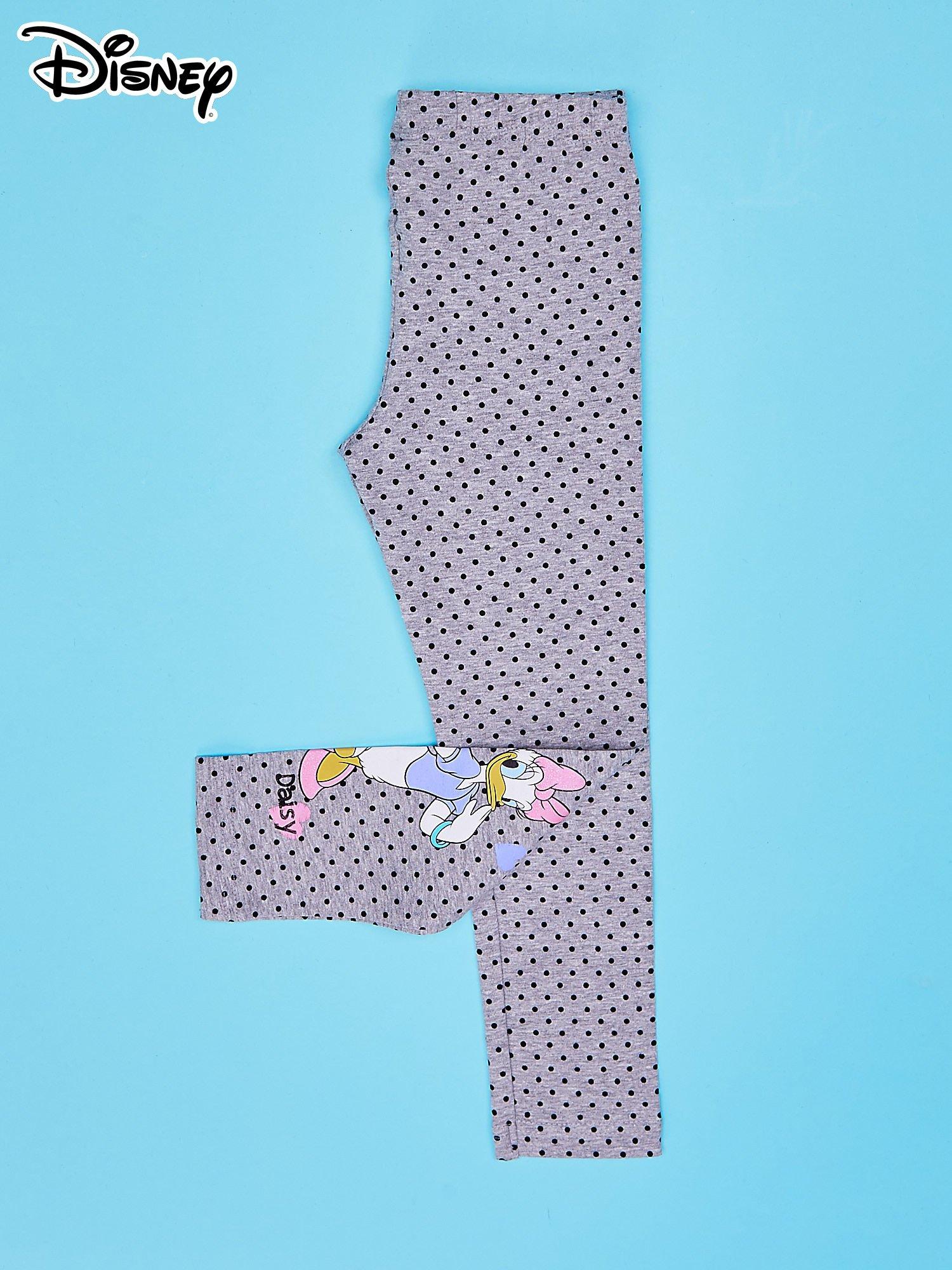 Szare legginsy w groszki dla dziewczynki DAISY                                  zdj.                                  4