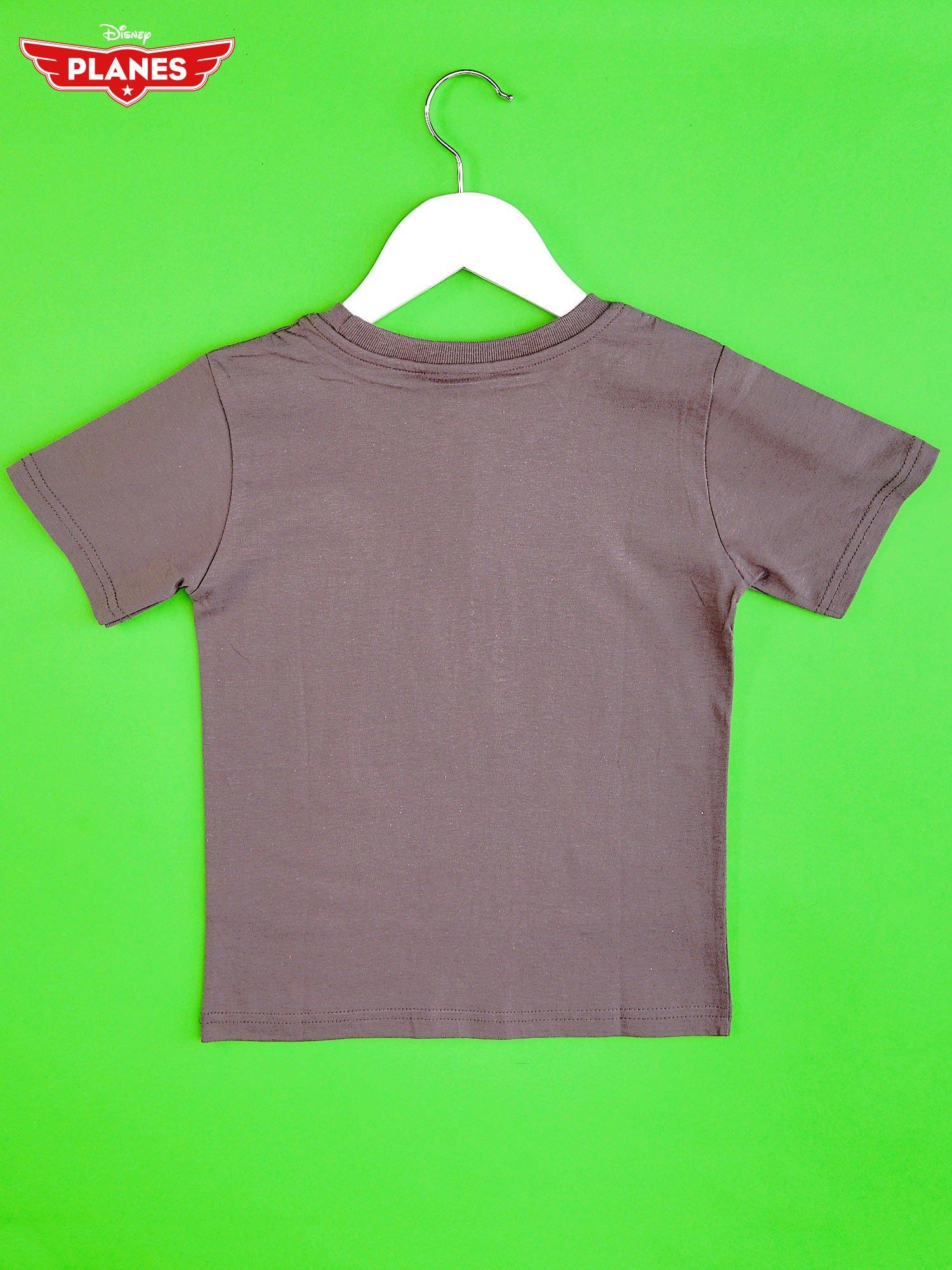 Szary t-shirt chłopięcy SAMOLOTY                                  zdj.                                  2