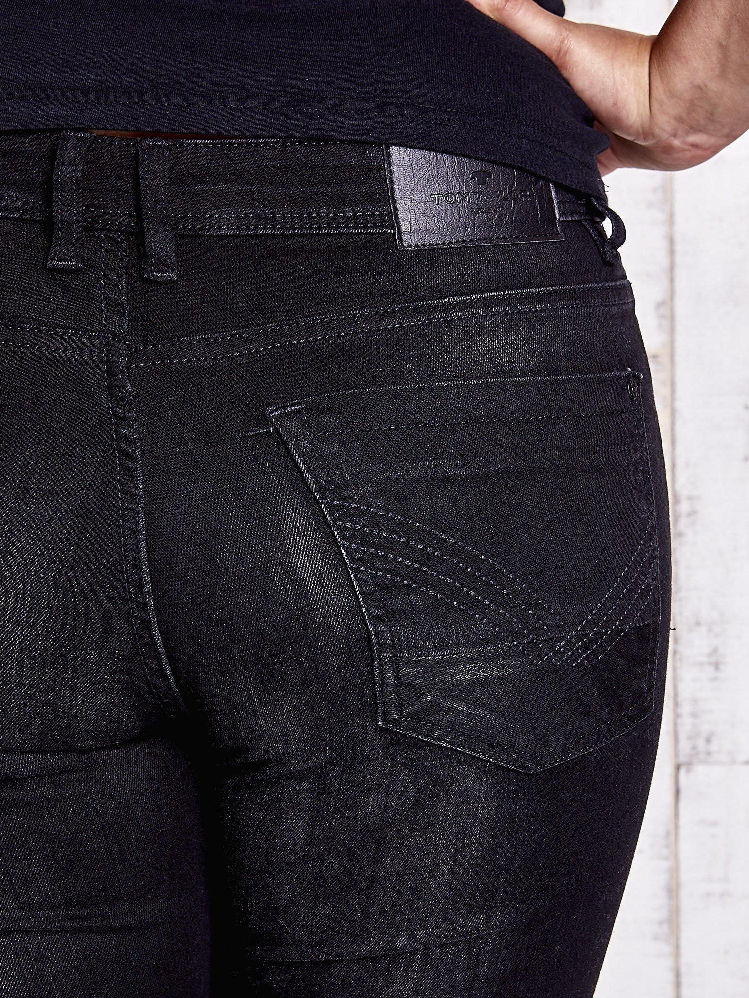 TOM TAILOR Czarne proste spodnie ze stretchem PLUS SIZE                                  zdj.                                  5