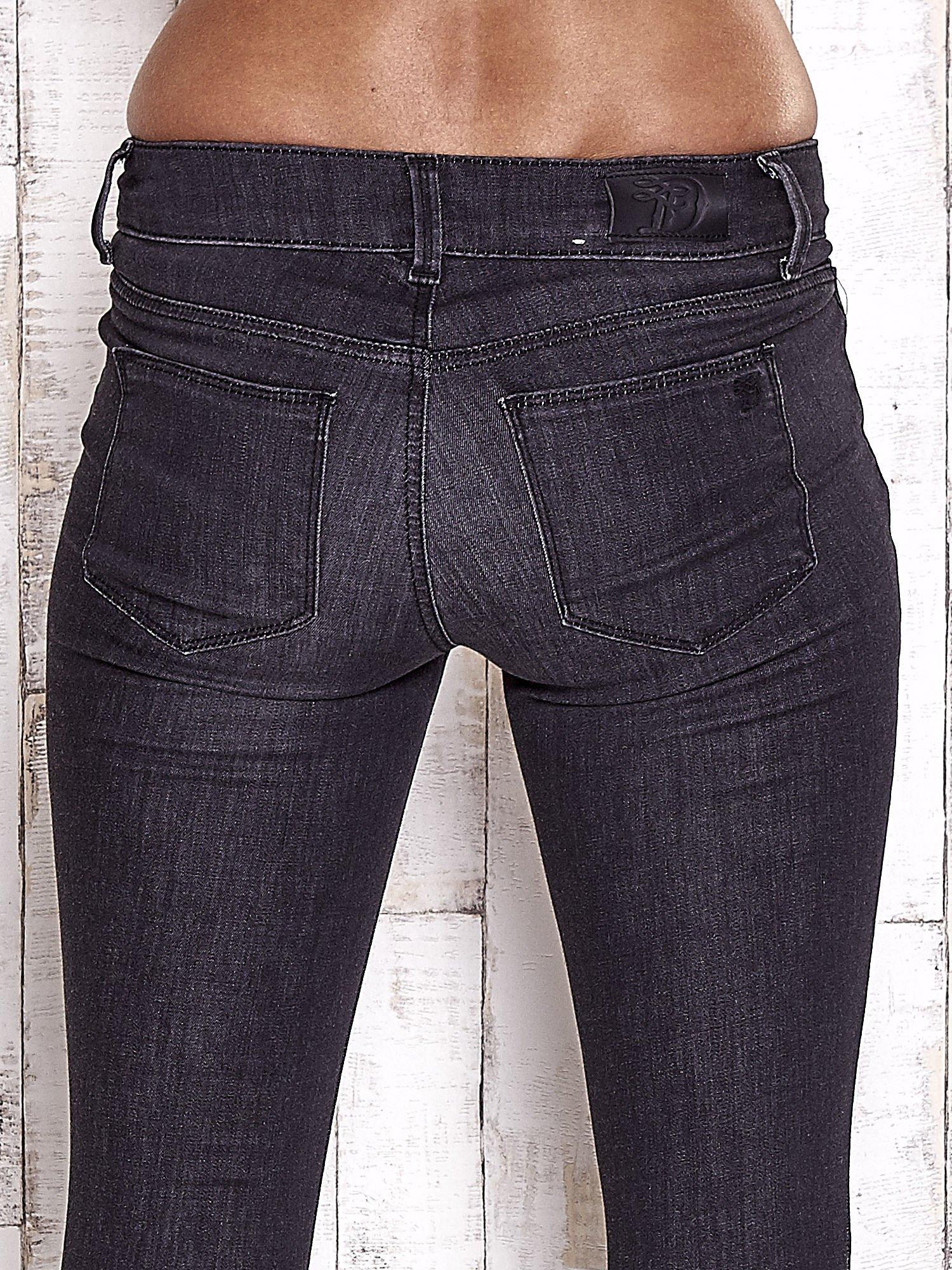 TOM TAILOR Czarne spodnie jeansowe ze stretchem                                  zdj.                                  6