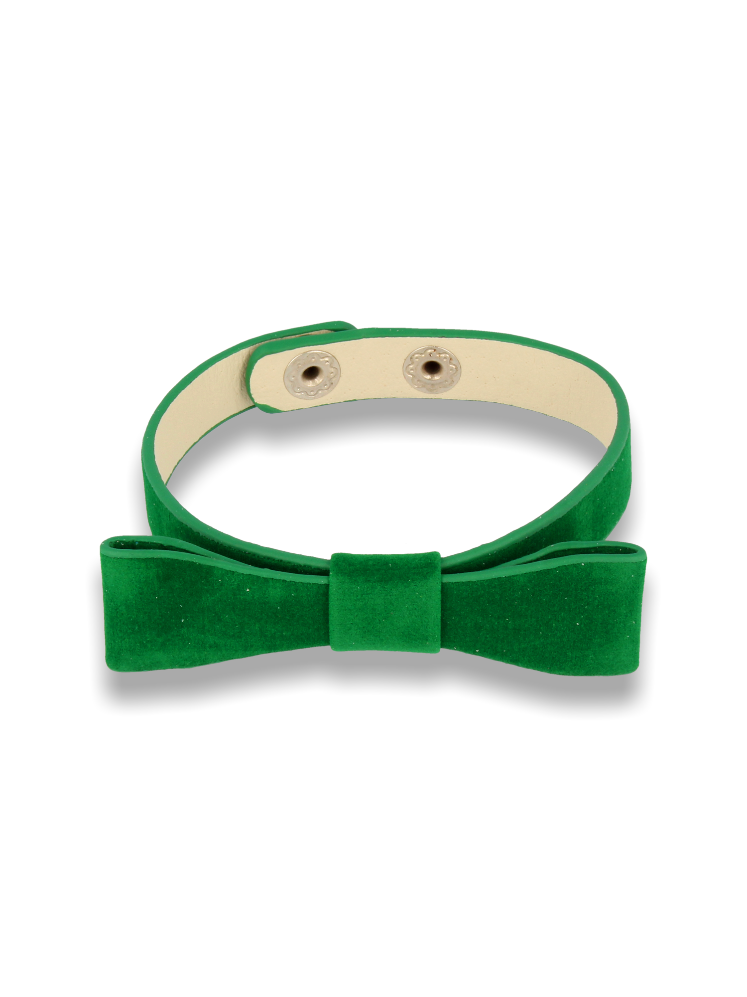 Zielona Bransoletka z kokardką                                  zdj.                                  1
