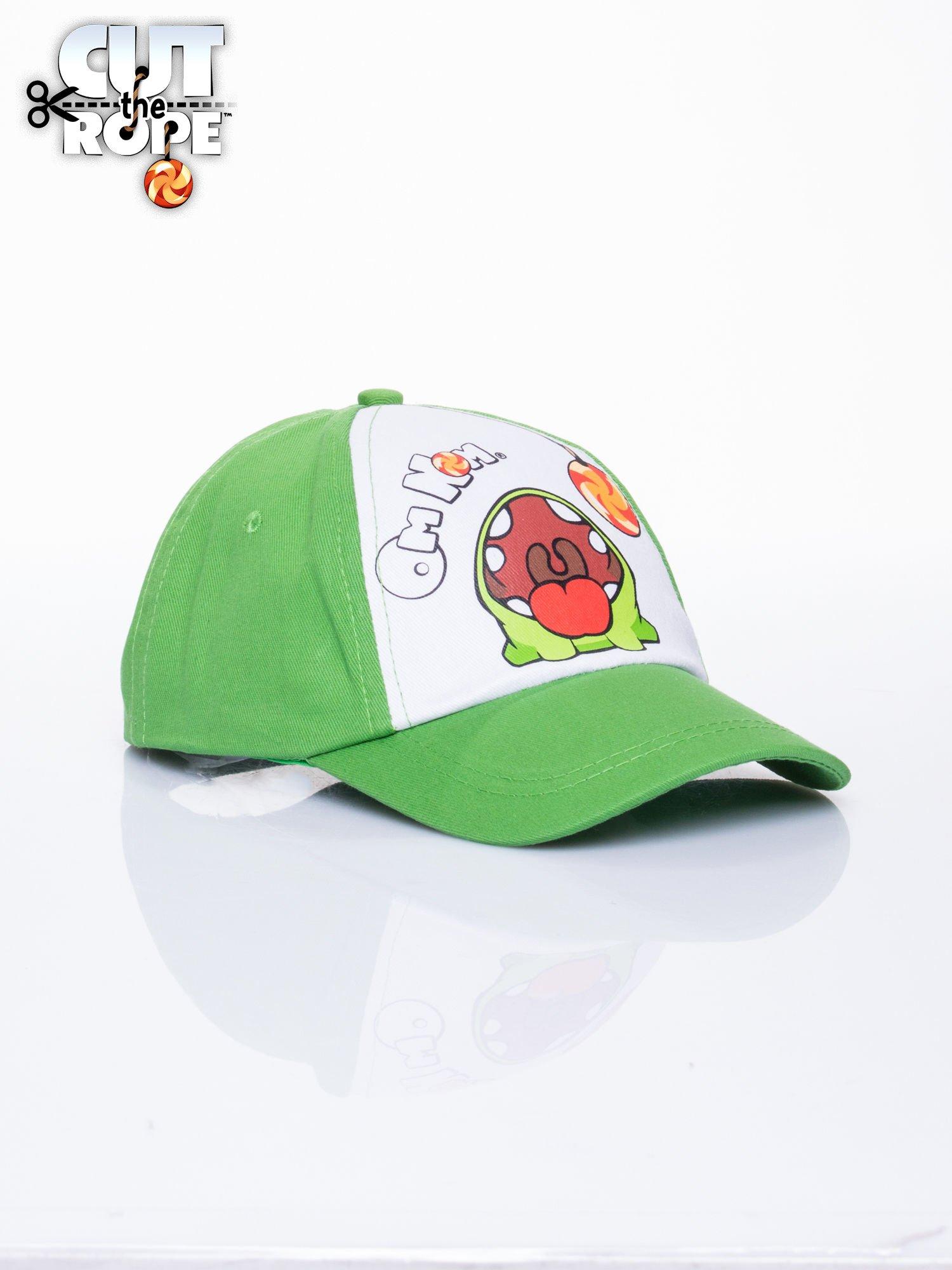 Zielona chłopięca czapka z daszkiem CUT THE ROPE                                  zdj.                                  2
