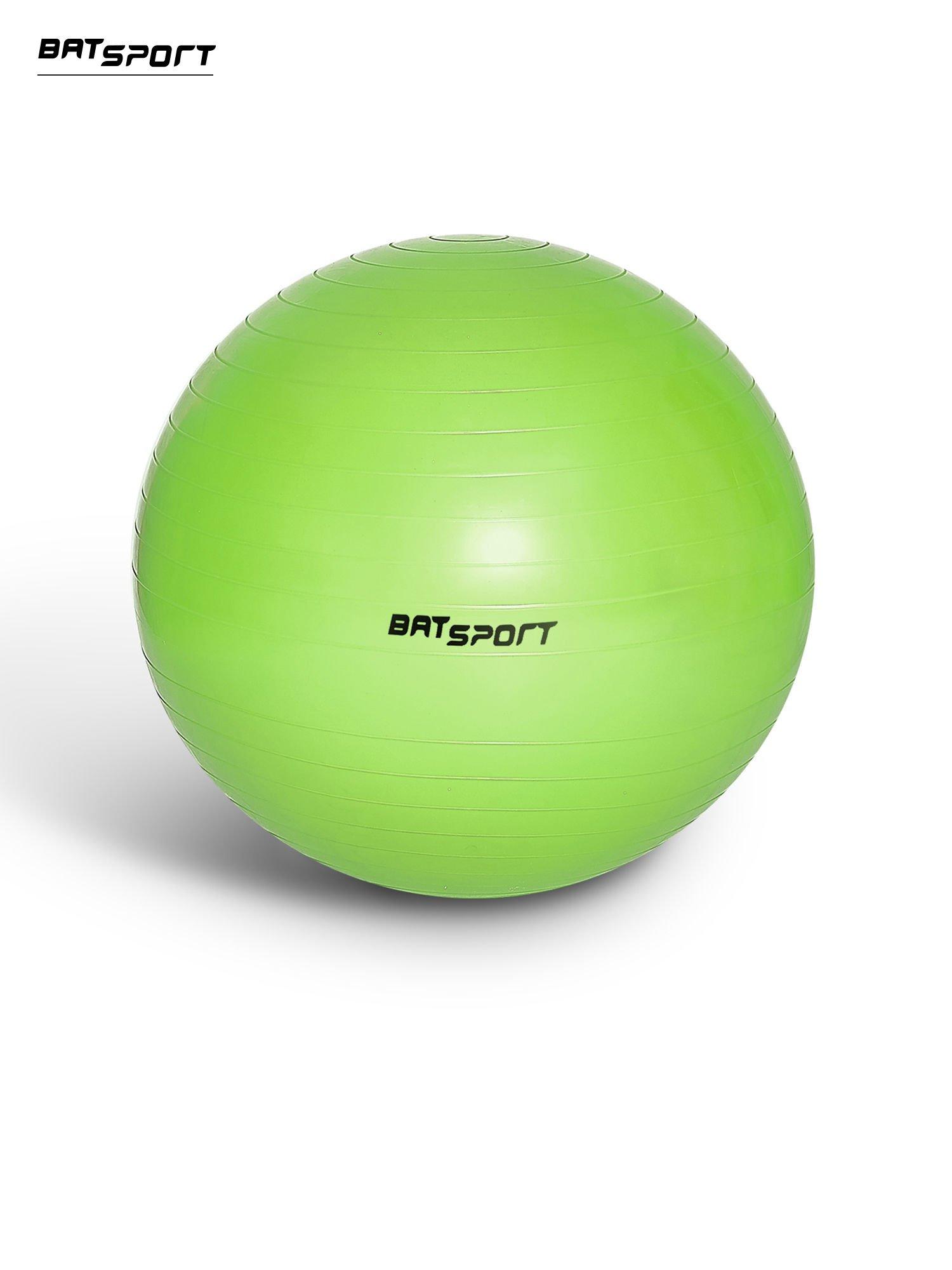 Zielona duża piłka fitness                                  zdj.                                  1