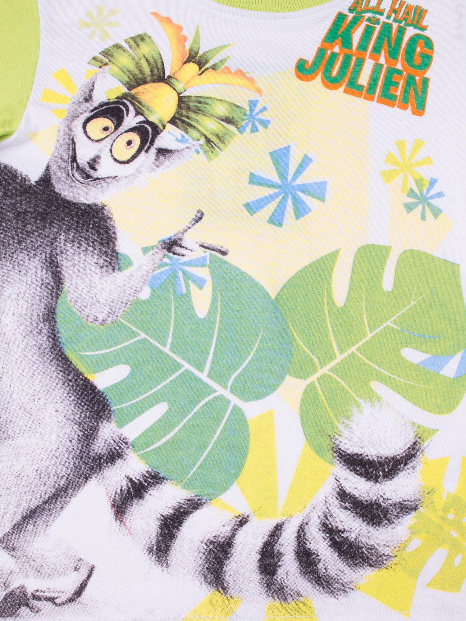 Zielona piżama chłopięca KRÓL JULIAN                                  zdj.                                  7