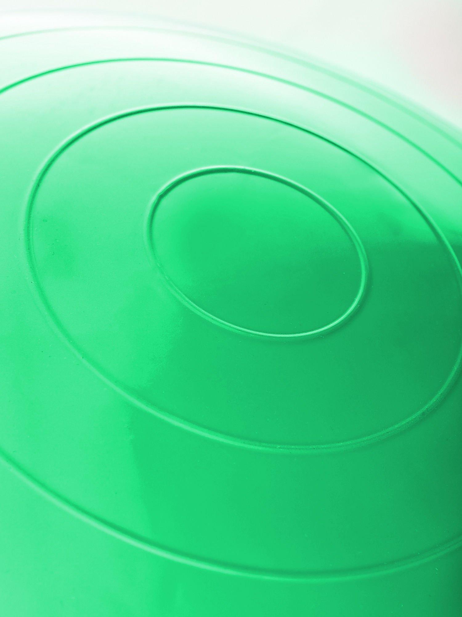 Zielona średnia piłka do fitnessu                                  zdj.                                  5