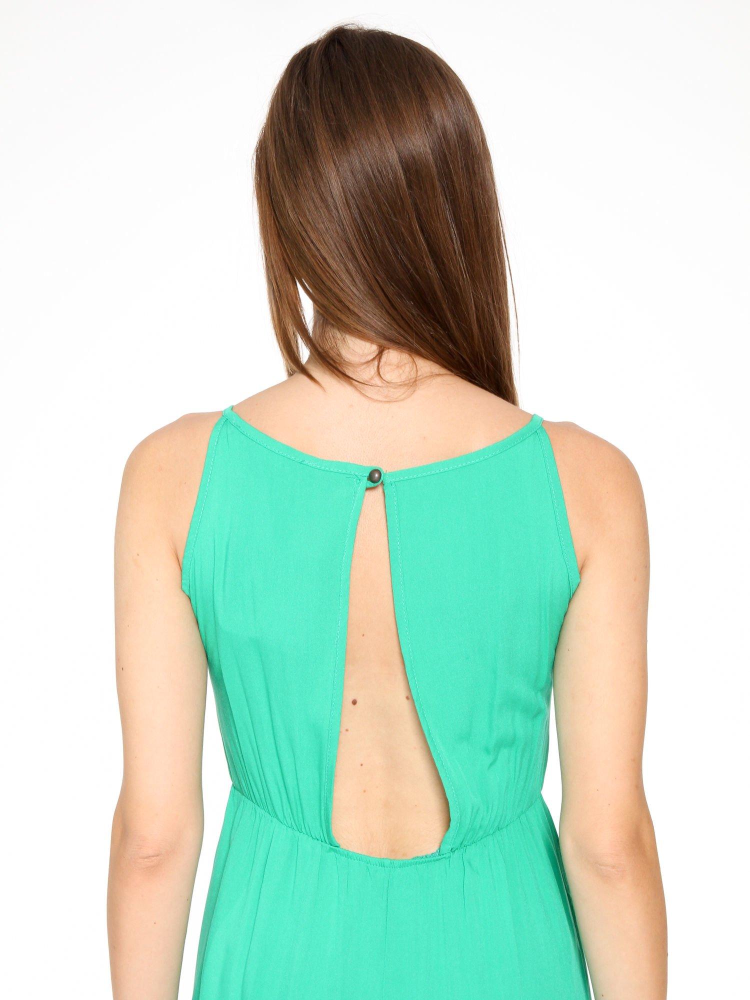 Zielona sukienka w stylu greckim                                  zdj.                                  5