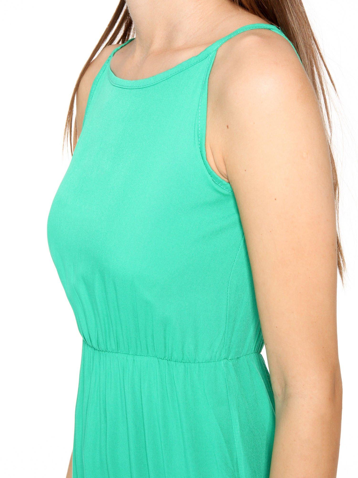 Zielona sukienka w stylu greckim                                  zdj.                                  8