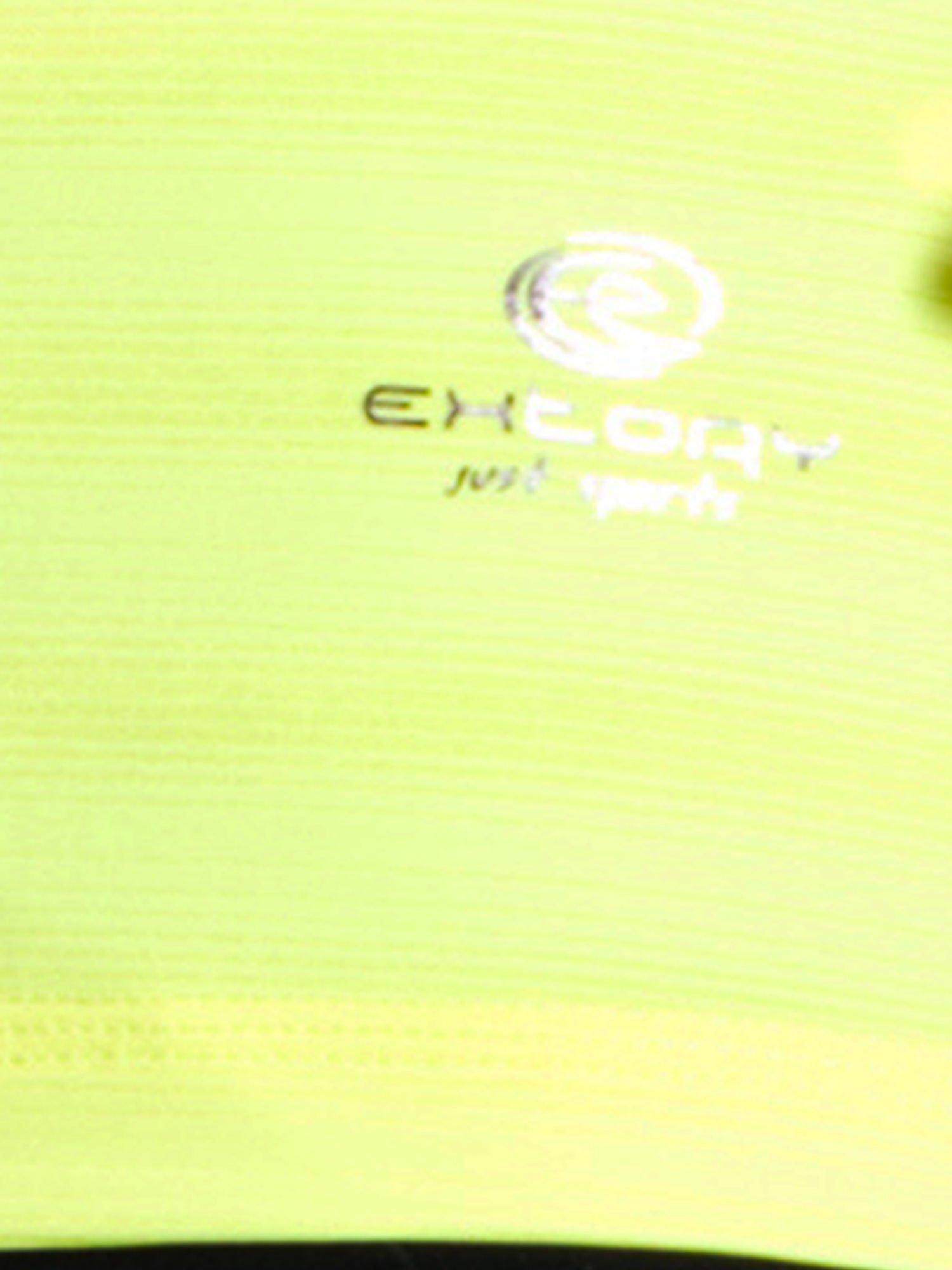 Zielony t-shirt sportowy w paseczki                                  zdj.                                  5