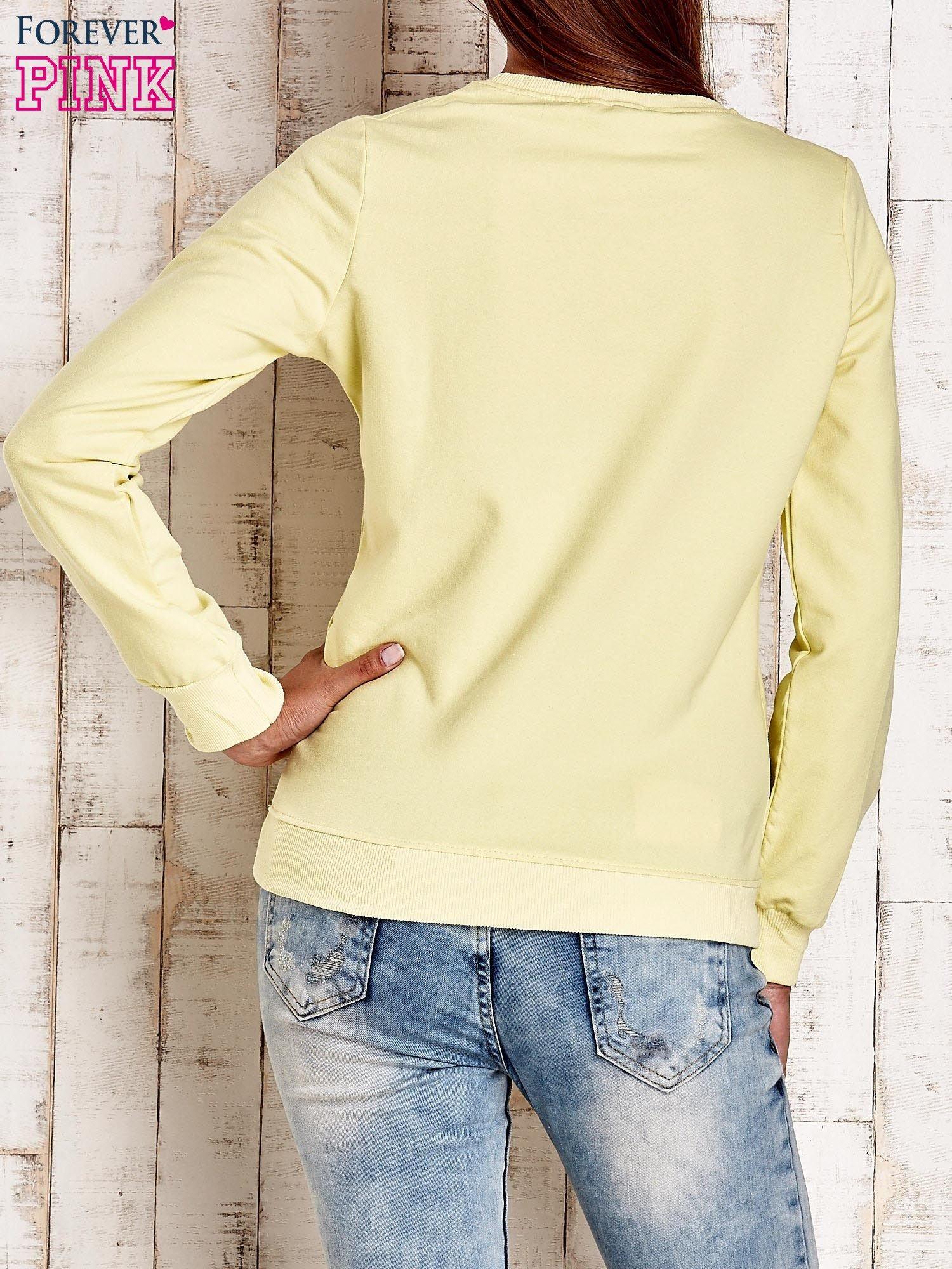 Żółta bluza z napisem ARIGATO                                  zdj.                                  2