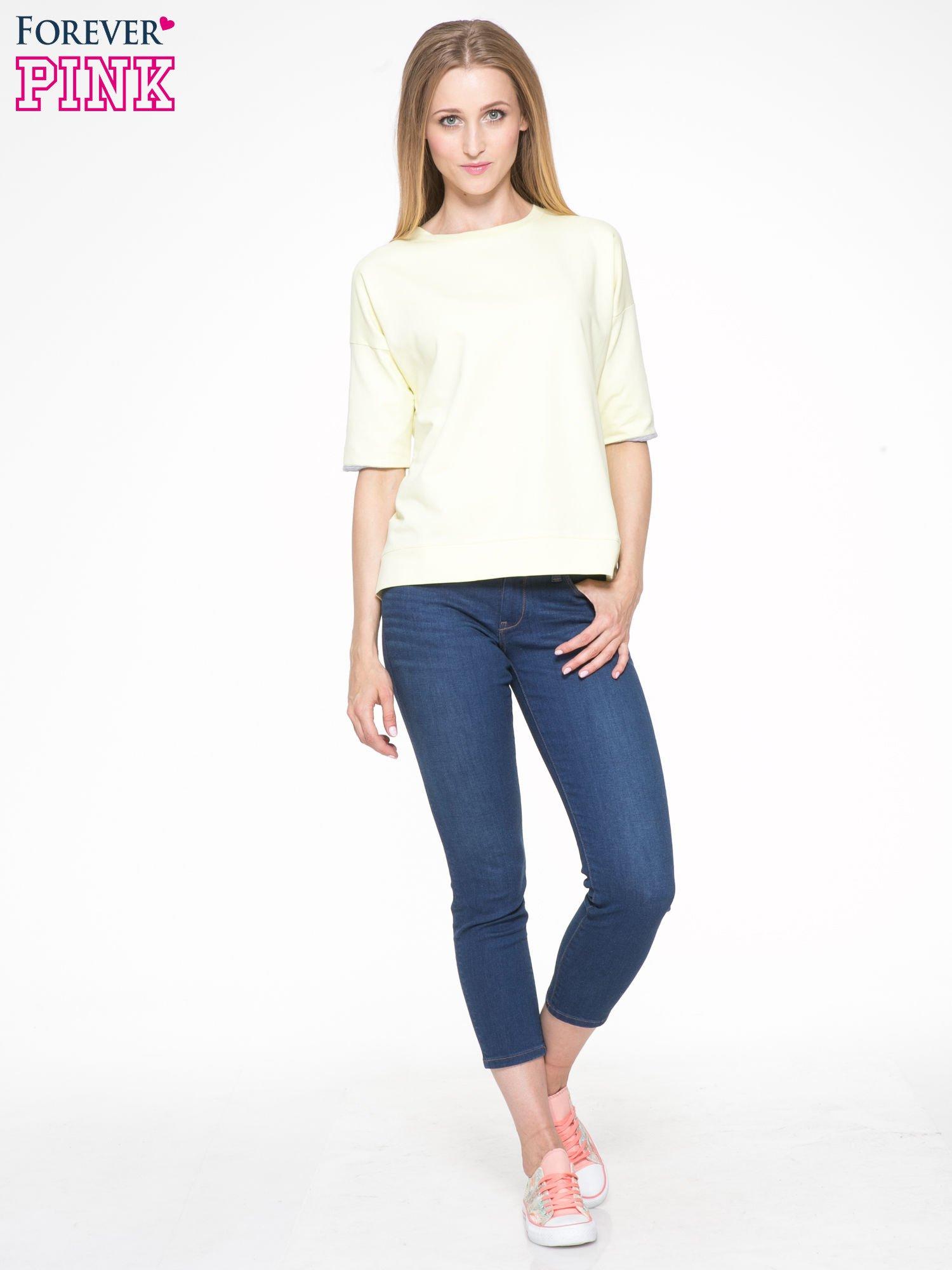 Żółta bluza z suwakiem z tyłu                                  zdj.                                  8