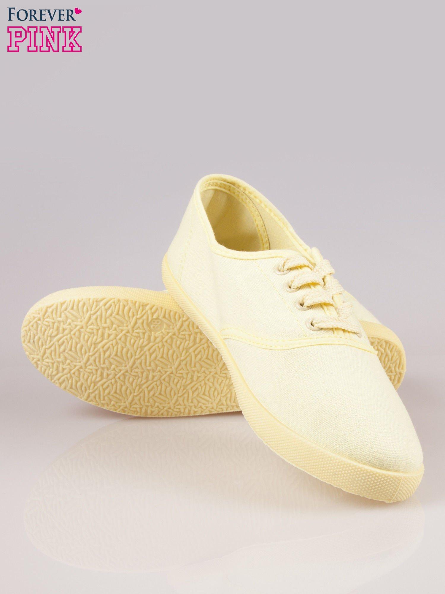 Żółtozielone tenisówki damskie                                  zdj.                                  4