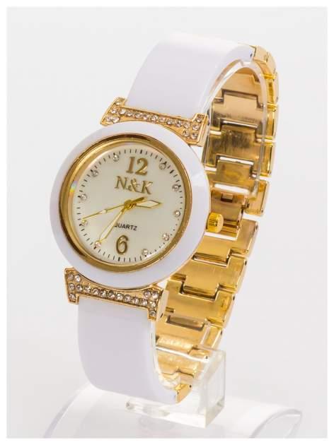 N&K Zegarek damski z perłową tarczą na bransolecie                                  zdj.                                  1