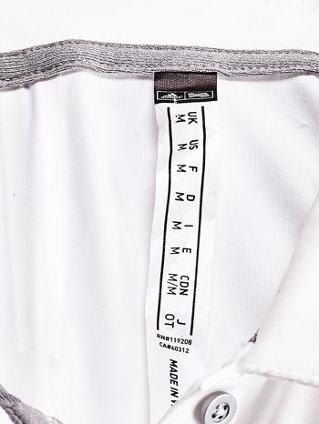 ADIDAS Biała koszulka polo                                   zdj.                                  4
