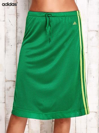 ADIDAS Zielona spódnica z lampasami                                  zdj.                                  1
