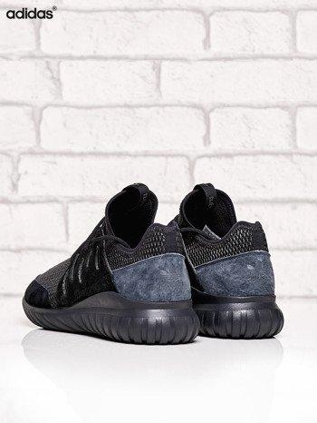 ADIDAS czarne buty męskie Tubular Radial z plecioną membraną                              zdj.                              4