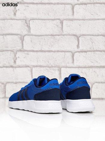 ADIDAS niebieskie buty męskie sportowe Lite Racer w graficzny wzór                              zdj.                              4