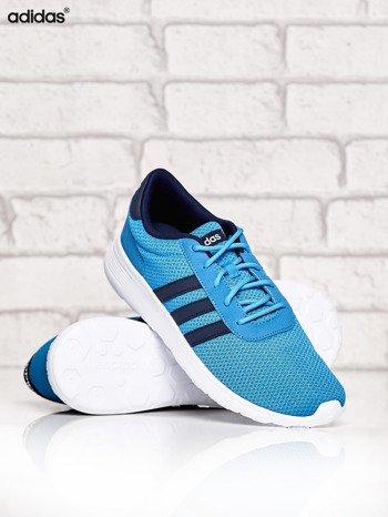 ADIDAS niebieskie buty męskie sportowe Lite Racer z wyższą podeszwą                              zdj.                              3