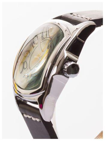 AMBER TIME Klasyczny męski zegarek. Skórzany pasek. Datownik.                                   zdj.                                  3