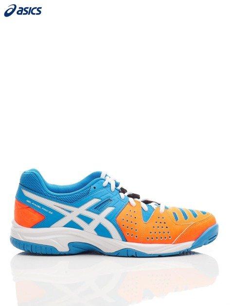 ASICS Niebieskie buty sportowe GEL PADEL PRO 3 GS                              zdj.                              1