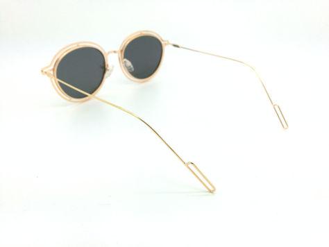 ASPEZO Okulary przeciwsłoneczne POLARYZACYJNE damskie srebrno-złote MAJORCA. Etui skórzane, etui miękkie oraz ściereczka z mikrofibry w zestawie                              zdj.                              2