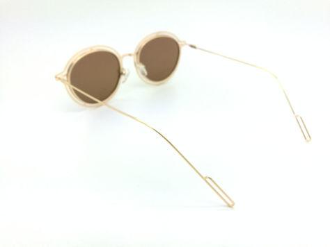 ASPEZO Okulary przeciwsłoneczne POLARYZACYJNE damskie złote MAJORCA. Etui skórzane, etui miękkie oraz ściereczka z mikrofibry w zestawie                              zdj.                              3