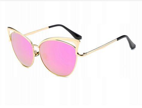 ASPEZO Okulary przeciwsłoneczne damskie POLARYZACYJNE różowe HOLLYWOOD Etui skórzane, etui miękkie oraz ściereczka z mikrofibry w zestawie                              zdj.                              1