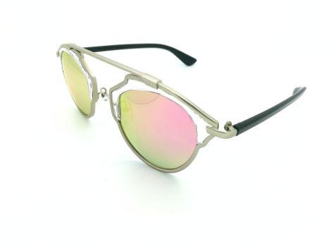 ASPEZO Okulary przeciwsłoneczne damskie POLARYZACYJNE różowe SAN FRANCISCO Etui skórzane, etui miękkie oraz ściereczka z mikrofibry w zestawie                              zdj.                              2