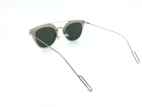 ASPEZO Okulary przeciwsłoneczne damskie POLARYZACYJNE srebrne VIENNA Etui skórzane, etui miękkie oraz ściereczka z mikrofibry w zestawie                              zdj.                              3