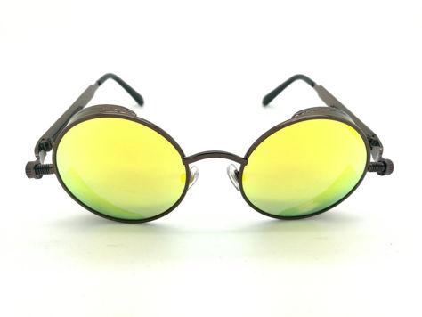 ASPEZO Okulary przeciwsłoneczne damskie POLARYZACYJNE zielono-brązowe AMSTERDAM Etui skórzane, etui miękkie oraz ściereczka z mikrofibry w zestawie                              zdj.                              1